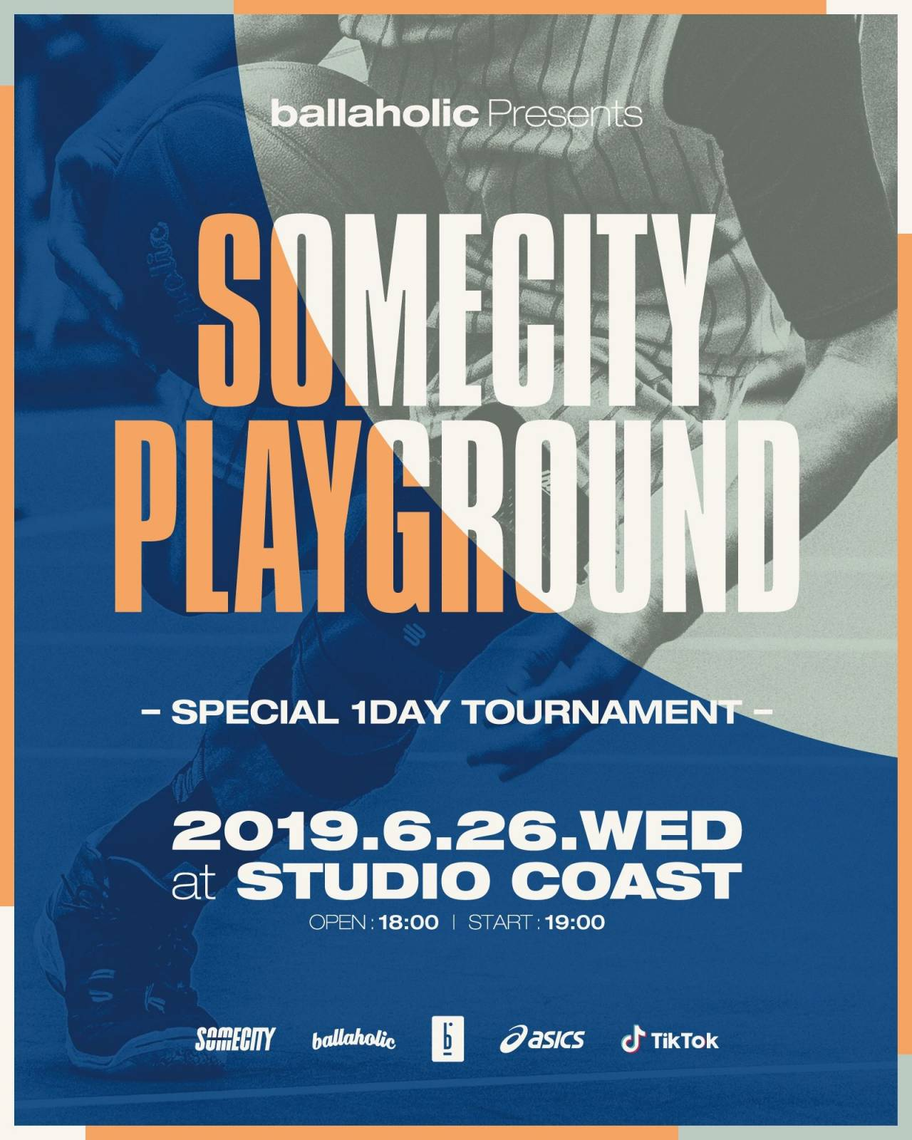 """ballaholic presents  SOMECITY PLAYGROUND"""